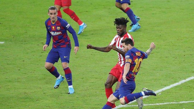 Lionel Messi impone nueva marca, pese al empate del Barcelona ante el Atleti