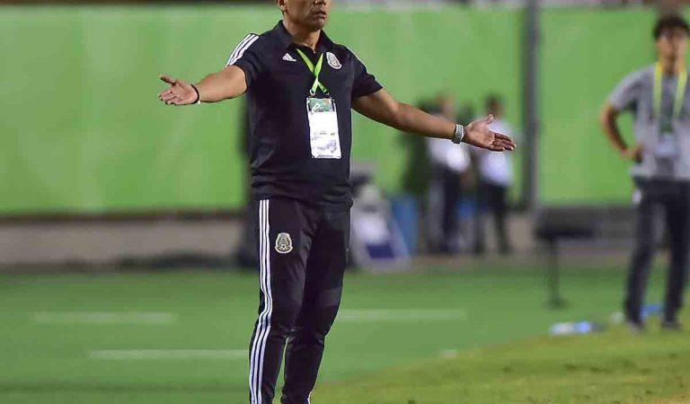 Marco Antonio Ruiz se despide como entrenador de México Sub-17