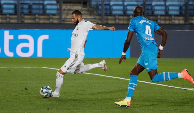 Real Madrid golea a Valencia con soberbio juego de Karim Benzema