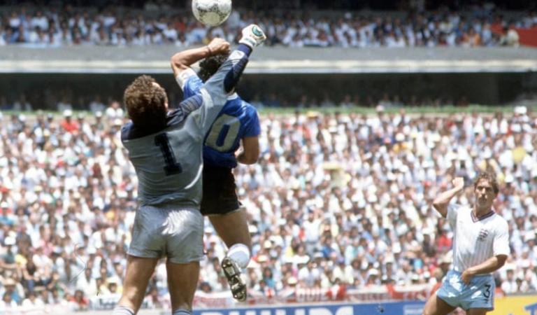 """Diego Armando Maradona, 34 años después de la """"Mano de Dios"""""""