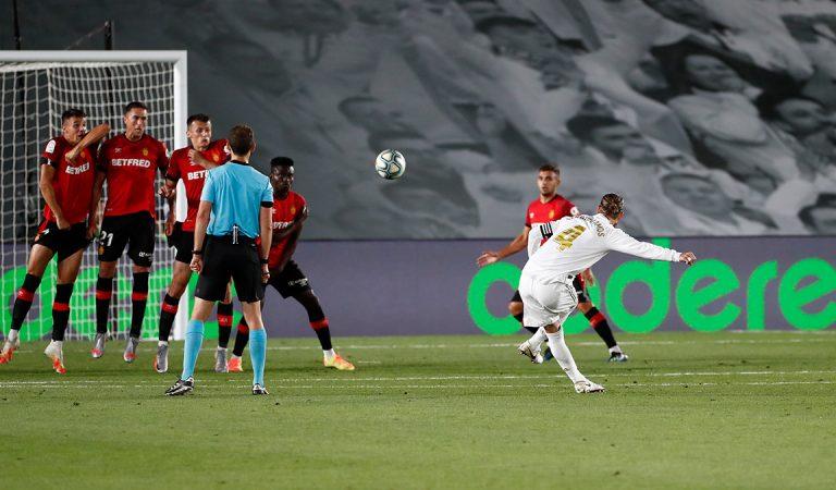 Real Madrid afianza el liderato al vencer al Mallorca
