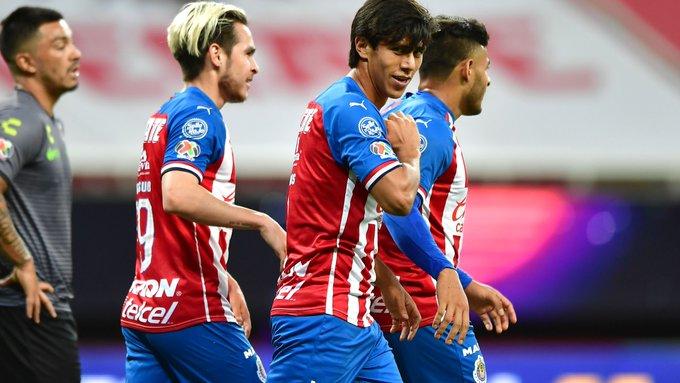 Chivas derrota al Atlas en la Copa Por México