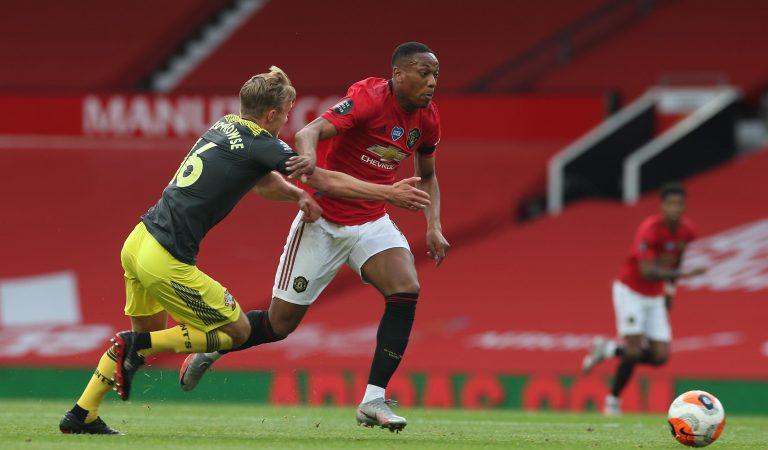 Southampton le arrebató la victoria al Manchester United