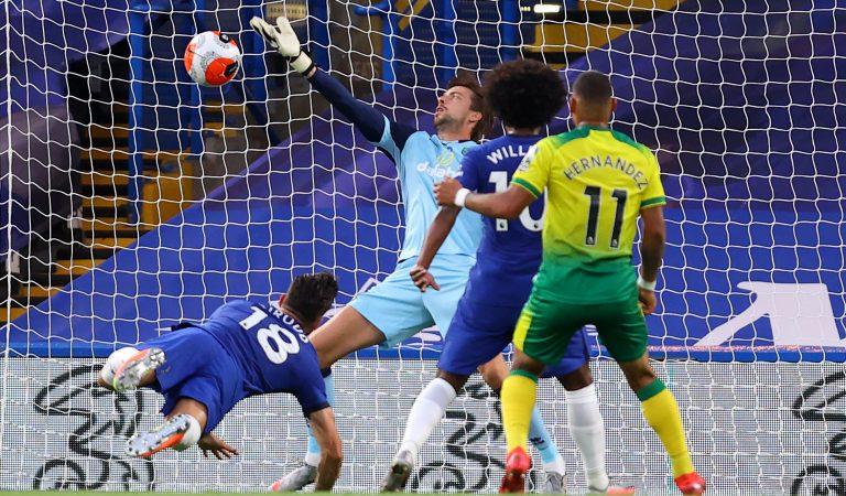 Chelsea se acerca a Champions League tras vencer al Norwich