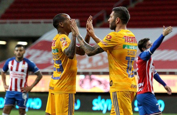 Con dos zarpazos de Gignac, Tigres vence a Chivas