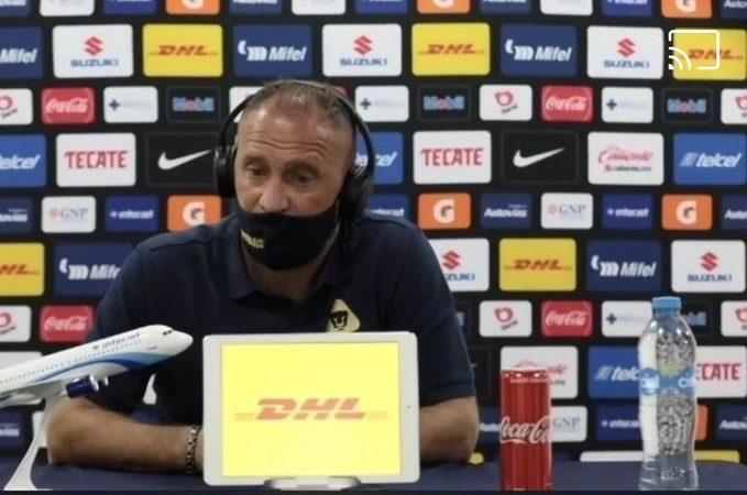 """""""El objetivo es entrar a la liguilla directo y no vamos a soltar nuestro puesto"""": Andrés Lillini"""