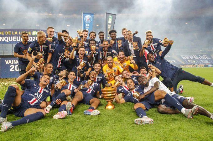 Tras un juego parejo, el PSG se alza con la Copa de la Liga en Francia