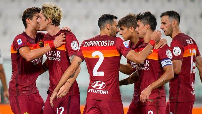 Juventus celebra su scudetto con derrota ante La Roma