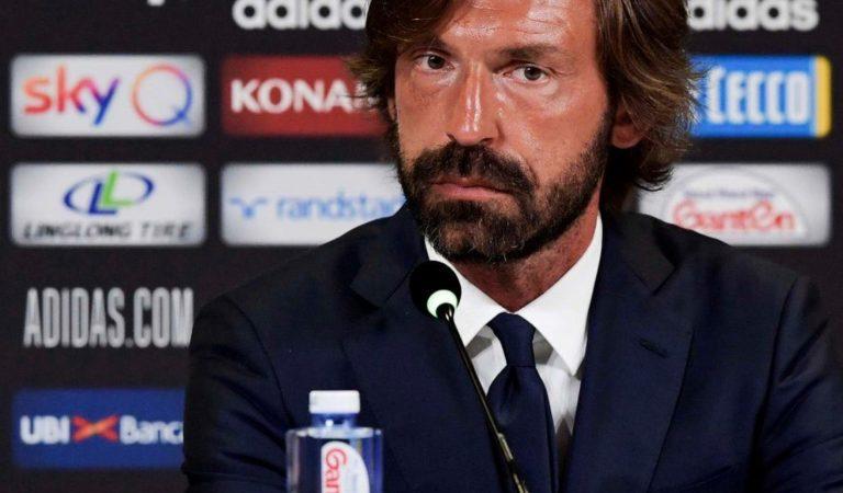 Oficial: Andrea Pirlo, designado nuevo DT de la Juventus
