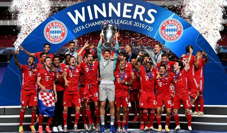 La Champions League designó el XI ideal de la temporada 2019-20