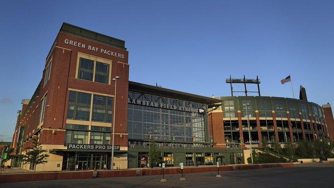 El Lambeau Field no tendrá aficionados en el inicio de temporada regular de la NFL