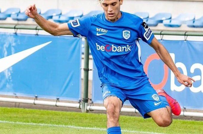 Gerardo Arteaga marcó su primer gol en Bélgica