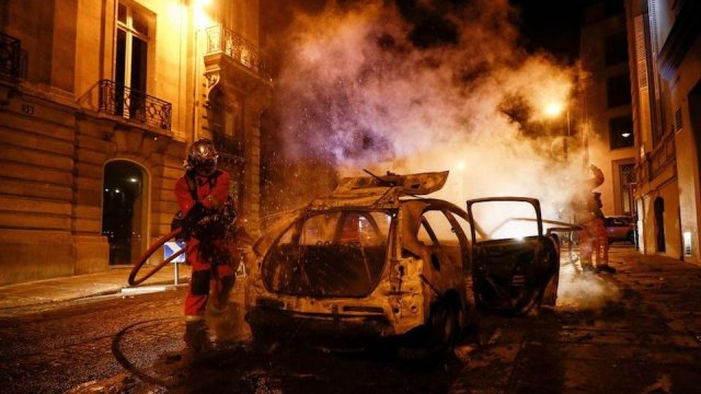La derrota del PSG arrojó 148 detenidos por disturbios