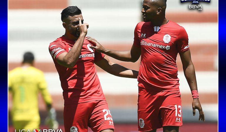 Triunfo sufrido del Toluca sobre Atlético San Luis