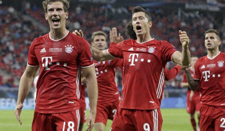 Bayern München se alza con la Supercopa de Europa 2020
