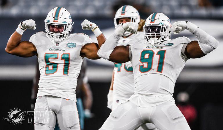 Miami Dolphins consigue su primer triunfo de la temporada 2020 en la NFL