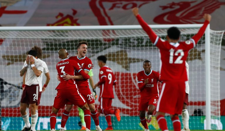 Liverpool continúa imparable tras vencer al Arsenal