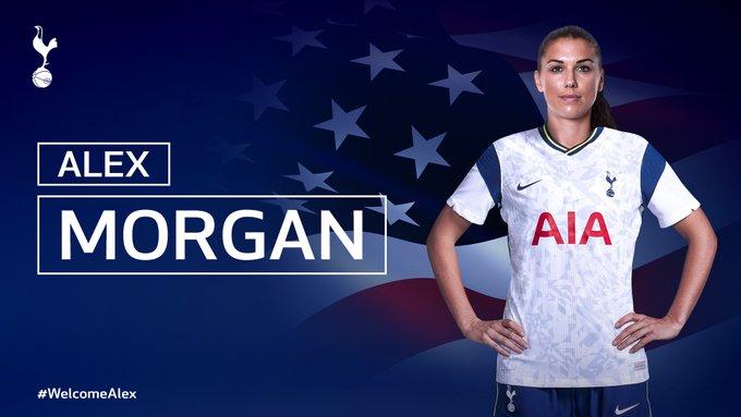 Alex Morgan es el bombazo del Tottenham