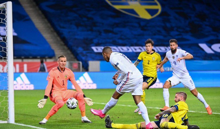 Francia derrota por la mínima a Suecia en su debut en la UEFA Nations League