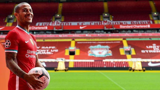 Oficial: Thiago Alcántara es fichado por el Liverpool