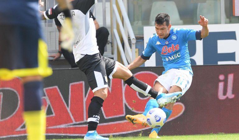 La Serie A castiga al Napoli