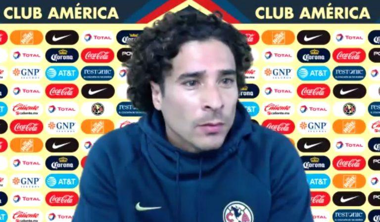 """""""Este es el clásico de México"""": Guillermo Ochoa"""