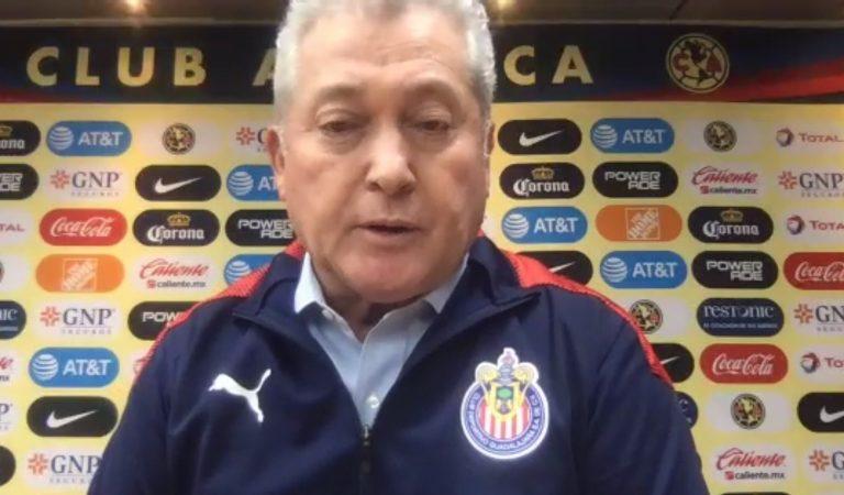 Miguel Herrera y Vucetich hablan después del Clásico Nacional
