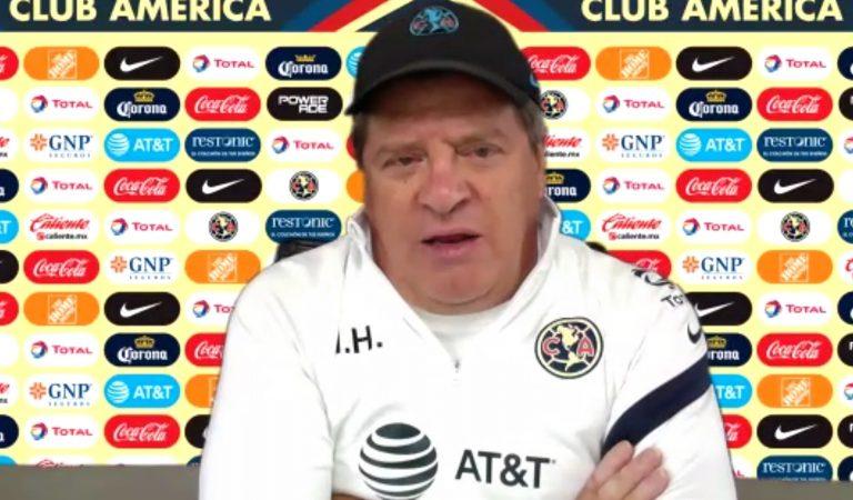 """""""Cruz Azul y América son los equipos que mayor nivel futbolístico han conseguido en la última década"""": Miguel Herrera"""