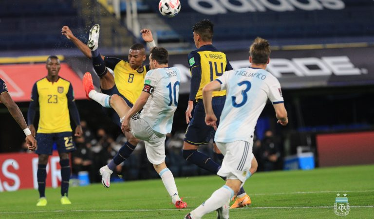 Argentina inicia las eliminatorias de la CONMEBOL con victoria sobre Ecuador