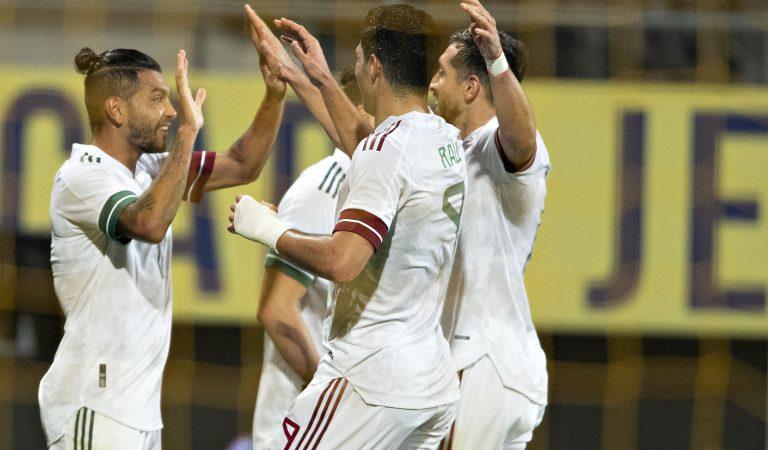 México rescata un gran empate ante Argelia en La Haya