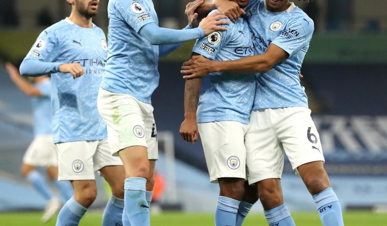 Raheem Sterling le da los tres puntos a Manchester City sobre Arsenal