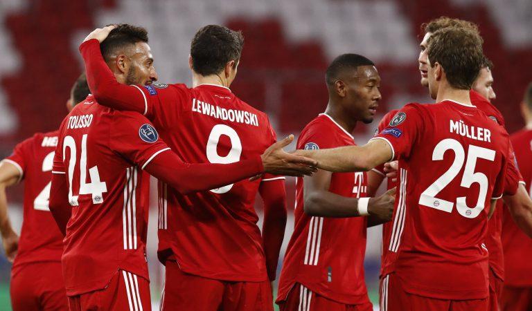 Bayern München inicia la defensa de su título de Champions League con goleada al Atlético de Madrid