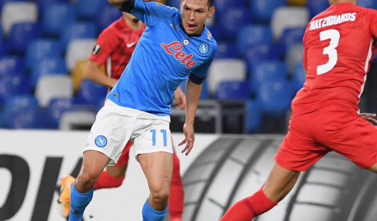 Napoli cayó en casa ante AZ Alkmaar en la UEFA Europa League
