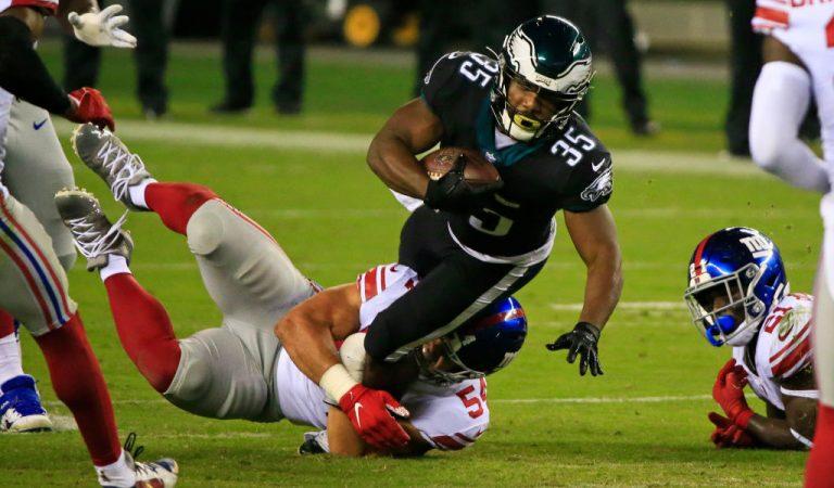 Philadelphia remonta y derrota a New York Giants