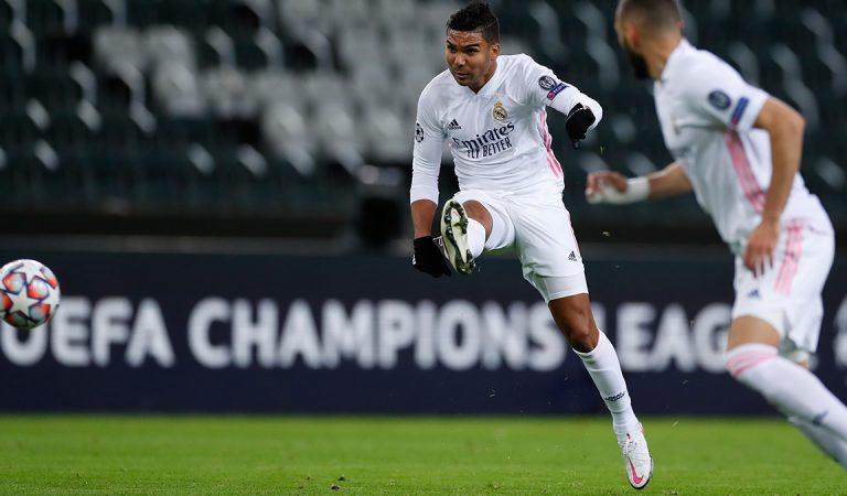 Real Madrid logró un empate agónico ante Borussia Monchengladbach