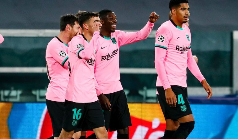 Barcelona impuso su autoridad y venció a la Juventus en Turín