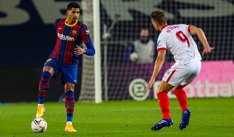 Sevilla y Barcelona dividen puntos en el Camp Nou