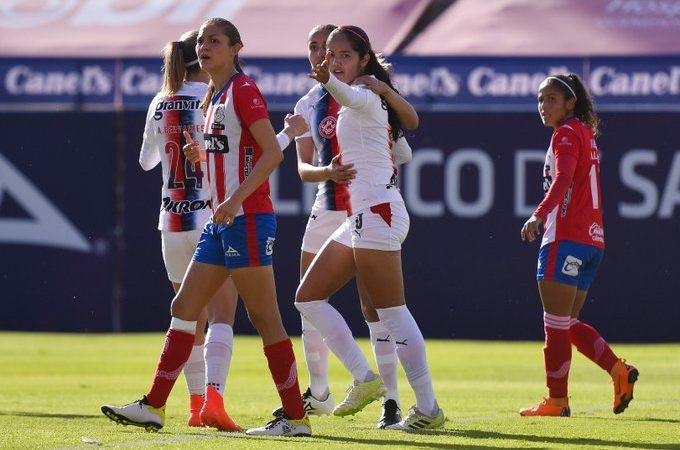Empate sorpresa y Atlético de San Luis le saca un punto a Chivas Femenil