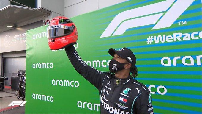 Lewis Hamilton, campeón del GP de Alemania