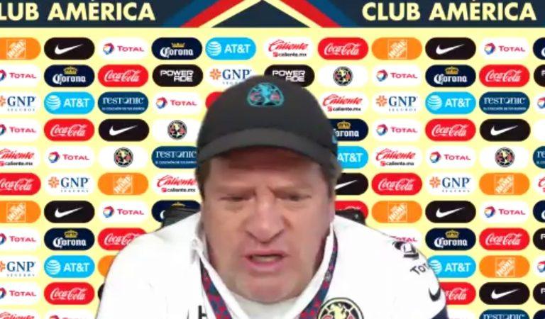 Miguel Herrera aclara la situación con César Ramos