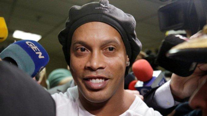Ronaldinho, positivo por Covid-19