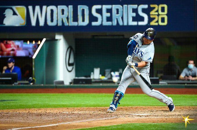 Brandon Lowe despierta y los Rays empatan la World Series ante Dodgers
