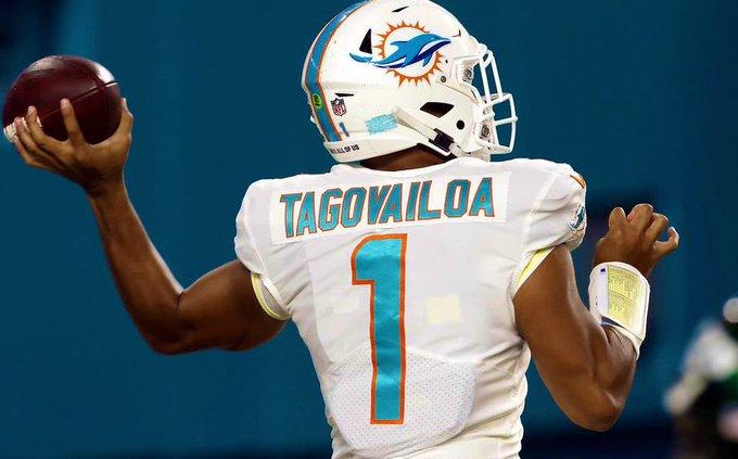 Tua Tagovailoa tomará la titularidad de los Miami Dolphins