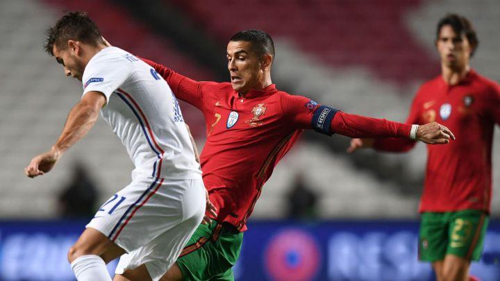 Francia gana en Portugal para tomar el liderato de grupo en Nations League