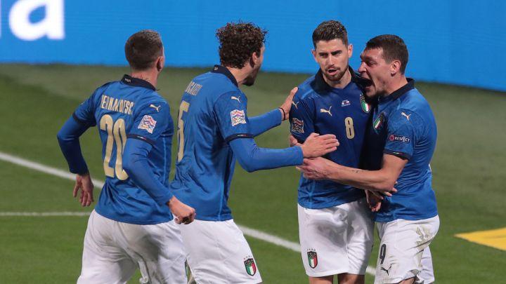 Italia gana ante Polonia en la Nations League