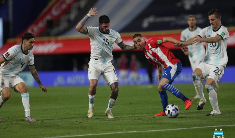 Argentina y Paraguay dividen puntos en las eliminatorias de CONMEBOL