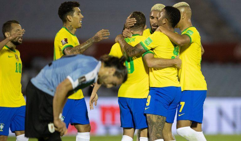 Brasil mantiene el liderato en las eliminatorias de la CONMEBOL tras imponerse a Uruguay