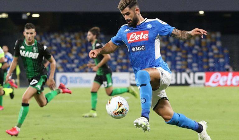 Con el 'Chucky' en la cancha, Napoli cae ante Sassuolo