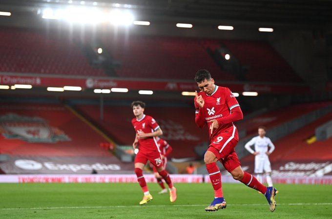 El Liverpool dominó al Leicester