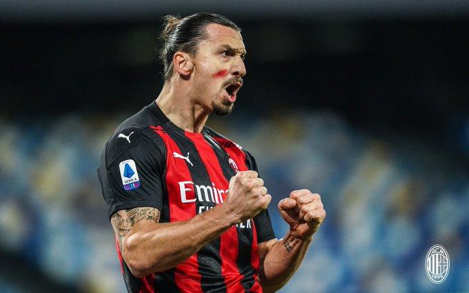 Con doblete de Zlatan, AC Milan venció al Napoli